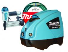 Makita Viimeistelynaulainpaketti: Kompressori MAC610X + viimeistelynaulain AF505 MAC610X