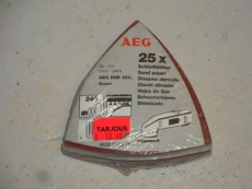 25kpl kolmio-hiomapaloja AEG DSE ja Kress- hiomakoneisiin