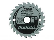 Makita Pyörösahanterä HM 85x15mm, Z-24