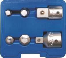 Sovitin-/adapterisarja 1/4-3/4 6-osainen