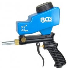 Hiekkapuhalluspistooli BGS, suutin 5mm, ilmantarve 3,3L/sek (n.200L/min)