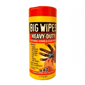 Big Wipes, 2-puoleiset tehokkaat puhdistusliinat 40kpl/pak