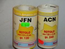 Rotolo ACN Kuivahiomapaperi, kellertävä 115mm x5m gr.120