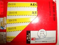 AEG-Pistosahanterä Alumiinille ja puulle max. 60mm