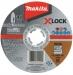 Makita Katkaisulaikka Ø125x1,2mm X-lock