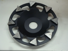 Timantti- kuppilaikka D125, EHWA Black