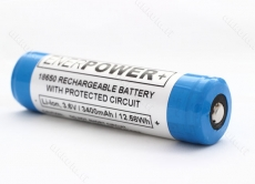 ENERPOWER 18650 3,6V, 3400mAh 12,42Wh