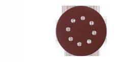 Hiomapyöröt rei´illä,  ø 125mm, 10kpl/pkt