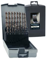 Lieriöporasarja Cobolt 25-osainen 1,0-13mm Muovikotelossa. EVENTUS by Exact HSSE-Co 5 DIN 338