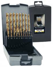 Lieriöporasarja Tin-pinnoitettu 19-os 1,0-10mm