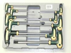 Kuusiokoloavainsarja Force T-kahvalla 2-12mm