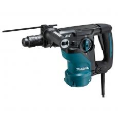 Makita poravasara HR3012FCJ 1050 W   • SDS-Plus  • 30 mm  • 3,9 J   Ammattilaisen kolmitoiminen poravasara vaihdettavalla pikaistukalla