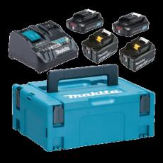 Makita Powerpack 2x18V 5Ah 2x12v 2Ah, 199025-0