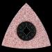 Makita, Kovametallihiontaterä, kolmio 78mm, B-21515 HM karkeus 30, laastin ja kaakeliliimojen poistoon, TMA025, B-21515