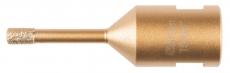 Timanttiporanterä laatoille 6mm. Kiinnitetään kulmahiomakoneeseen (M14) Makita D-61070