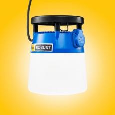 LED-työmaavalaisin 24W 5000k, kuvasta poiketen: VIHREÄ