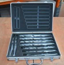Optimum 3051003 Morsekartiollinen HSS kierteisporasarja 9-osaa 14,5-30mm