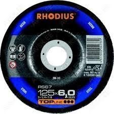 Rhodius hiomalaikat, paksuus 6mm, Ø100-230mm