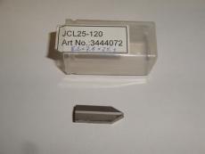 Sorvinterä, kierreterä JCL25-120, 3444072, 8.2x7.6x23.3mm