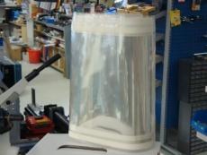 Hiekkapuhalluskaapin suiojakalvo 250x550mm