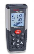 AM35 on nopeatoiminen etäisyysmittari ammattilaisten ja vaativan harrastelijan käyttöön Se on suunniteltu sisäkäyttöön ja toimintaalue on 35 metriä