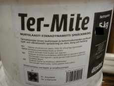 Etanadynamiiti Ter-Mite L 5 ja 10kg:n astioissa