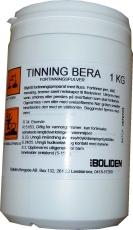 TINNING BERA juotospasta on 100 % tinapulveria, jossa on seassa juoksutetta. Soveltuu raudalle, teräkselle, kuparille, messingille, sinkille ja pronssille.