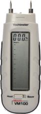 Metofix kosteusmittari VM100 puun ja muiden rakennusmateriaalien kosteusmittauksiin
