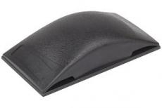 Hiontapala käsinhiontaan 130x70x32 mm.  Nopea ja helppo paperin tai nauhan kiinnitys