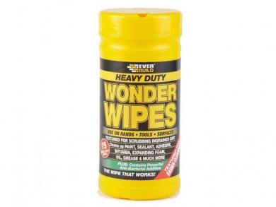 Wonder Wipes, 2-puoleiset tehokkaat puhdistusliinat